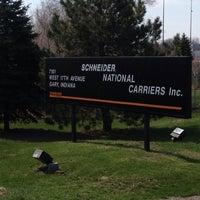 Photo taken at Schneider National by Trucker D. on 4/17/2014