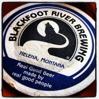Photo taken at Blackfoot River Brewing Company by Shawn N. on 10/5/2012