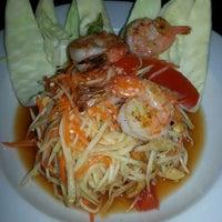 Photo taken at Tasty Thai & Sushi by Andrew C. on 4/26/2014