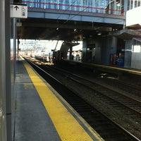 Photo taken at Stamford Transportation Center Bus/Train (STM) Metro North & Amtrak by Andrew B. on 12/28/2012