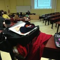 Photo taken at Université Lumière Lyon 2 - Campus Porte des Alpes by Guillaume G. on 2/5/2013