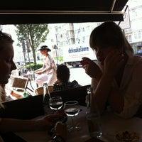 Photo taken at Brasserie du Parc by Sheena V. on 7/23/2013