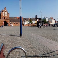 Photo taken at Hafen Wismar by Seb M. on 7/9/2013