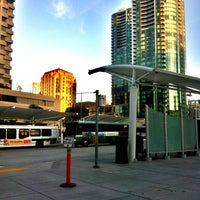 Photo taken at Temporary Transbay Terminal by Cee A. on 1/16/2013