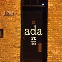 Photo taken at Ada Street by Jeffrey W. on 9/21/2012