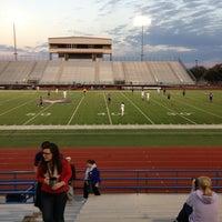Photo taken at Bob Shelton Stadium by Tom R. on 2/9/2013