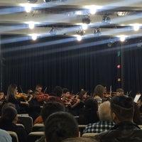Photo taken at Escola de Música do Estado de São Paulo (EMESP Tom Jobim) by Vitória M. on 6/15/2016