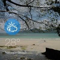 Photo taken at Pantai Natsepa by Rendy U. on 8/27/2013