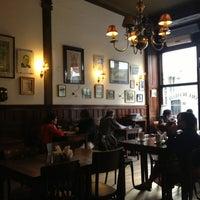 Photo taken at Café Brasilero by Cristian C. on 2/25/2013