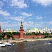 Photo taken at Bolshoy Kamenny Bridge by Elena B. on 6/30/2013