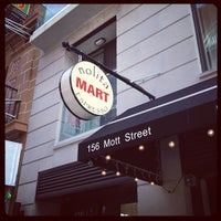 Photo taken at Nolita Mart & Espresso Bar by Zach Peak P. on 12/6/2012