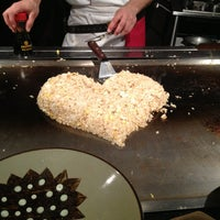 Photo taken at Benihana by Kate L. on 1/13/2013