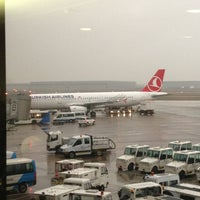 Photo taken at Terminal A by Serdar K. on 3/9/2013