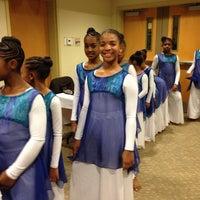 Photo taken at Largo Community Church by Carmella D. on 12/8/2013