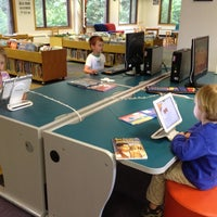 Photo taken at Barrington Area Library by Christy P. on 5/30/2012