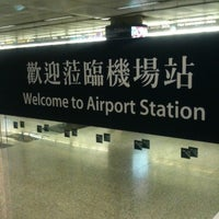 Photo taken at MTR Airport Station 機場站 by Kath M. on 10/3/2011