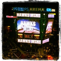 Photo taken at Philips Arena by Anita W. on 3/14/2013