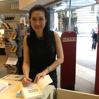 Photo taken at Dymocks (Hunter Street Sydney) by Yvonne S. on 3/19/2013