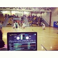 Photo taken at Elmcor Recreation Center by Ezekiel A. on 2/12/2014