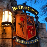 Photo taken at Be Our Guest Restaurant by Kirby F. on 4/7/2013