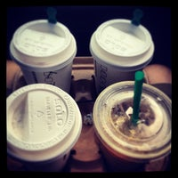 Photo taken at Starbucks by Kirby F. on 1/15/2013