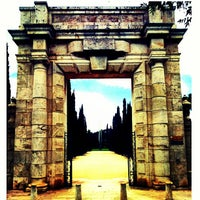 Photo taken at Jardins del Reial - Vivers by Borja F. on 5/31/2013
