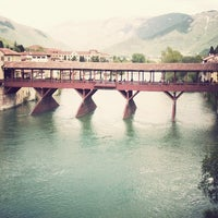 Photo taken at Ponte degli Alpini by Müller Italia on 6/12/2013