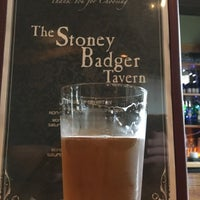 Photo taken at Stoney Badger Tavern by Brewer S. on 11/19/2016