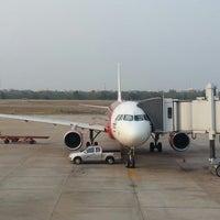 Photo taken at Udon Thani International Airport (UTH) by Sukrit K. on 4/9/2013