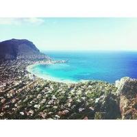 Photo taken at Spiaggia di Mondello by Alexandr N. on 10/2/2012