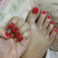 Photo taken at Sweet Nails by Abie S. on 5/1/2013