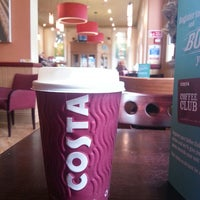 Photo taken at Costa Coffee by Simon C. on 5/9/2013