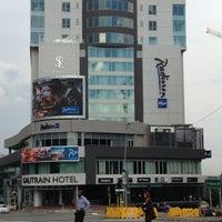Photo taken at Radisson Blu Gautrain Hotel by Kobus V. on 12/18/2012
