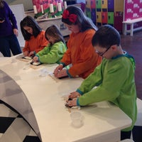 Photo taken at Make-A-Messterpiece by Andrea M. on 2/16/2014