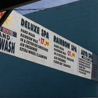 Photo taken at Sun Hand Car Wash by Deer L. on 5/28/2014