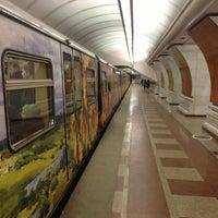 Photo taken at Поезд «Акварель» by Sascha K. on 2/19/2013