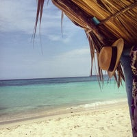 Photo taken at Playa Blanca by Felipe C. on 4/28/2013