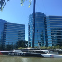 Photo taken at USA-71 BMW-Oracle Racing Boat by Klaus B. on 6/9/2015