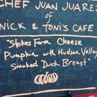 Photo taken at Tucker Square Greenmarket by Nick & Toni's Cafe on 10/13/2012