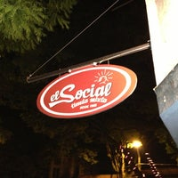 Photo taken at El Social by Marcell T. on 1/3/2013