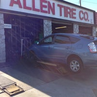 Photo taken at Allen Tire Company by Cong N. on 12/31/2012