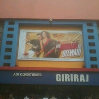 Photo taken at Giriraj Cinema by Shivani D. on 6/16/2013