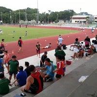 Photo taken at CCAB Stadium by KýlęAārön🌹 ك. on 8/4/2014