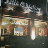 Photo taken at Milk & Mellow Burgers by Mayra S. on 3/14/2013