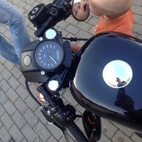 Photo taken at Harley Davidson Šalamounka Club by Jarda V. on 8/10/2014