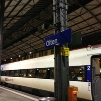 Photo taken at Bahnhof Olten by Jordy on 1/6/2013