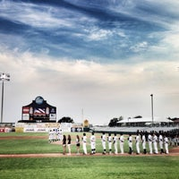 Photo taken at Nelson W. Wolff Municipal Stadium by Yvonne R. on 5/18/2013