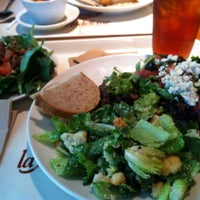 Photo taken at la Madeleine Country French Café by Melissa G. on 8/17/2013