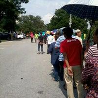 Photo taken at SMK Bandar Puchong Jaya (A) by Hasbullah L. on 2/22/2013