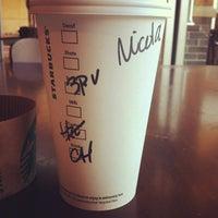 Photo taken at Starbucks by Nicole M. on 2/20/2013